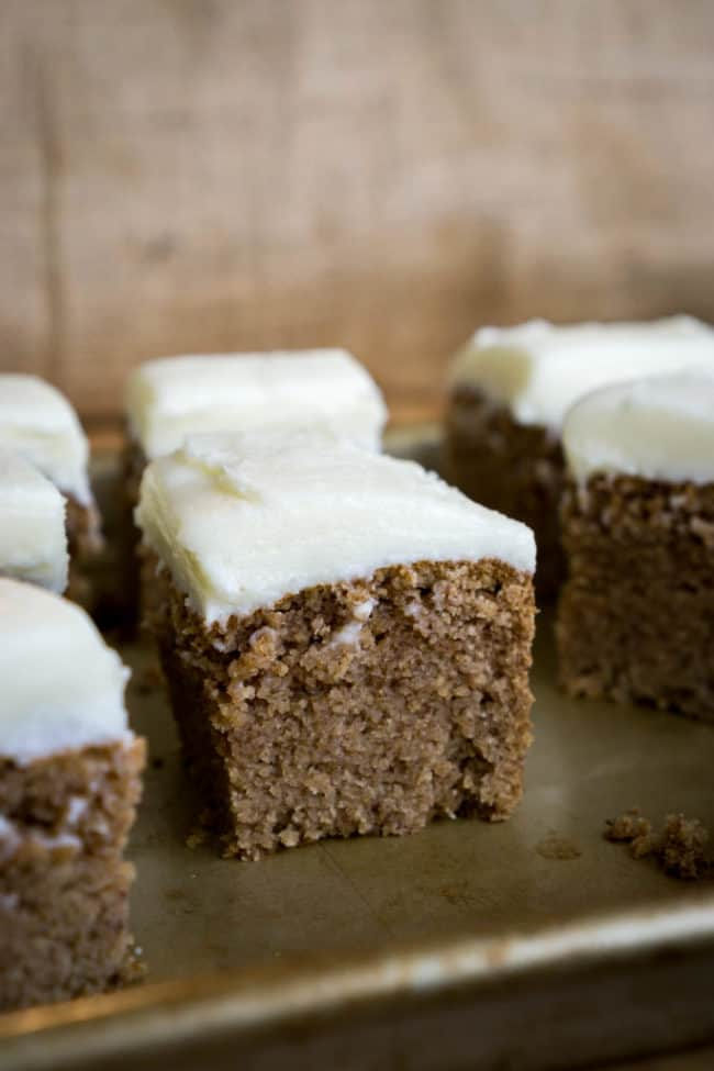 gingerbread cake is the perfect winter recipe