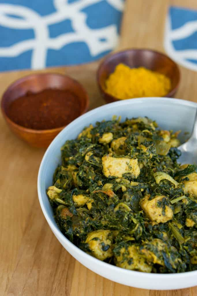 Chicken Saag Recipe Simple And Low Carb Ketoconnect