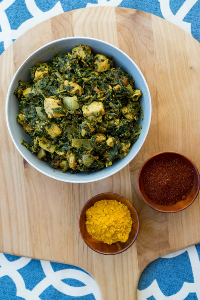 Our low carb Chicken Saag Recipe uses a combination of spices and convenient ingredients so you can make this delicious dish any night of the week!