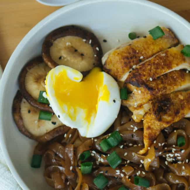 Keto Asian Noodle Bowl