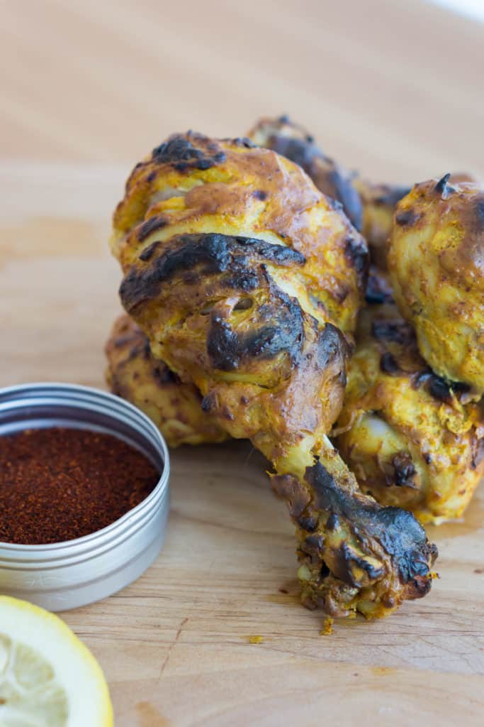 Our easy tandoori chicken uses a combination of simple flavors and a low carb marinade to create a tender, spicy take on an Indian classic dish!