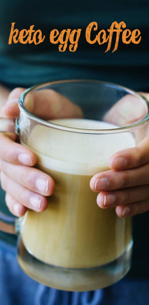 This Keto Breakfast Coffee is packed with fat and protein to get your busy mornings off to a delicious and filling start!