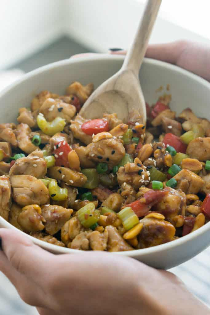 Low Carb Kung Pao Chicken Better Than Take Out Ketoconnect