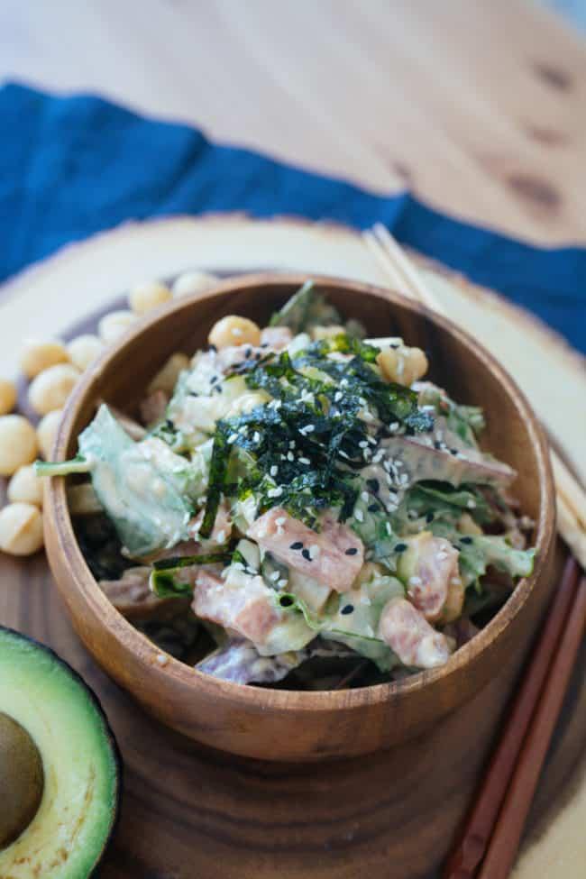 Spicy Ahi Poke Recipe