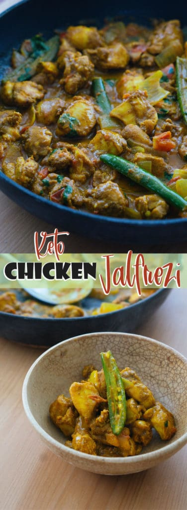 This Keto Chicken Jalfrezi combine fresh and flavorful ingredients to make the perfect Indian take-out replacement!