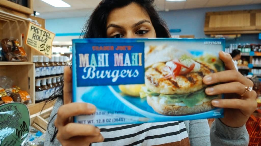 mahi mahi burgers at trader joes are a great option for a keto diet