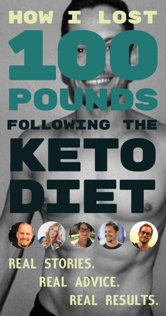 How does someone achieve a 100-Pound weight loss transformation? Meet five people who have used the keto diet to transform their lives.