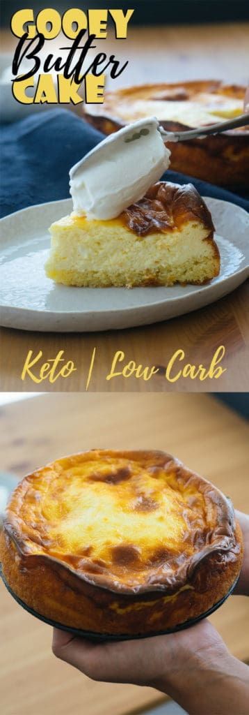 This Keto Butter Cake is low in carb, rich in flavor and will be your newest cake obsession!