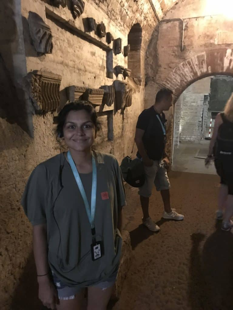 The catacombs tour was our favorite part of the rome tour. Make sure to read reviews of different touring companies to ensure you have the best experience!