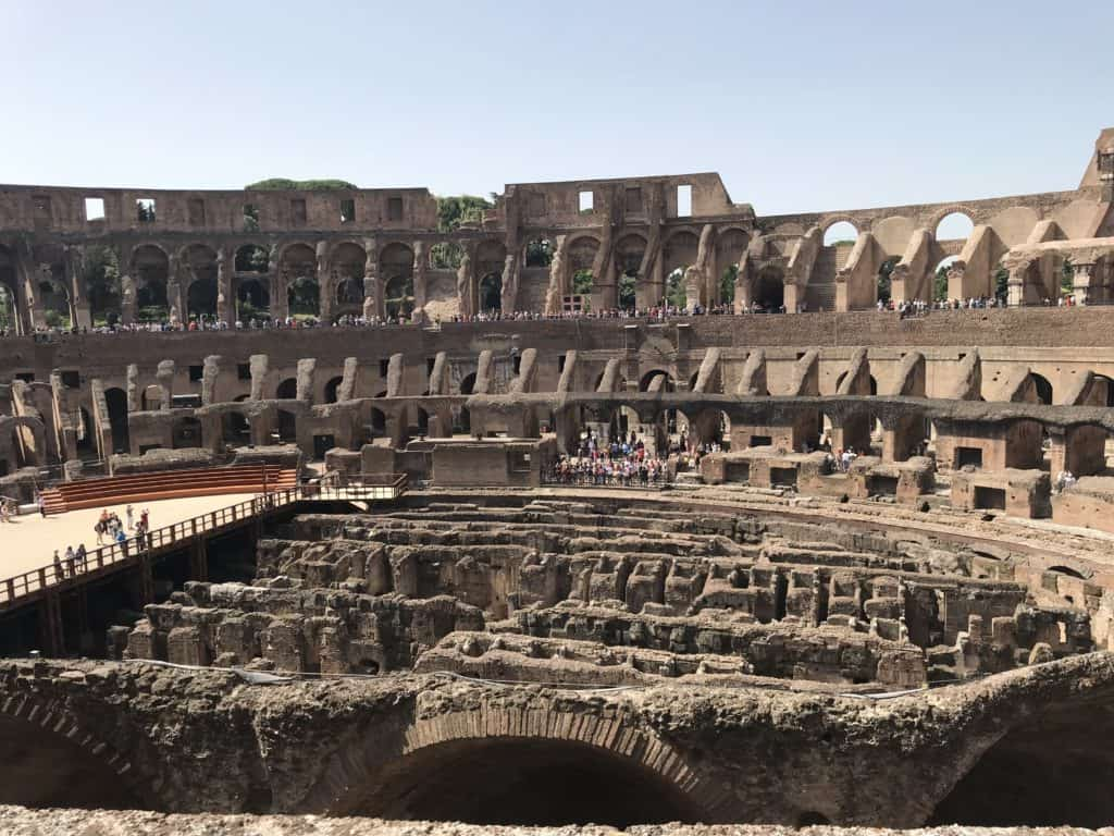 We used walks of italy to book our tour of the colosseum and roman forum. We would suggest using a different company if planning to tour rome!