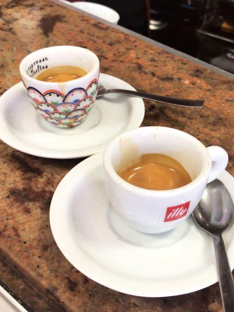 We drink three espressos per day at different locations. The espresso culture in rome was amazing and keto friendly!