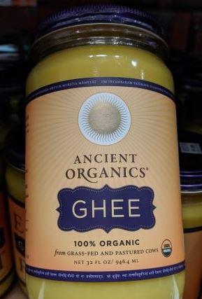 ghee from costco ancient organics brand