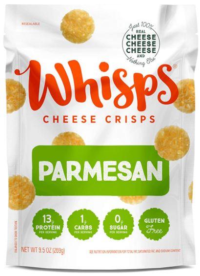 cello whisps parmesan crackers