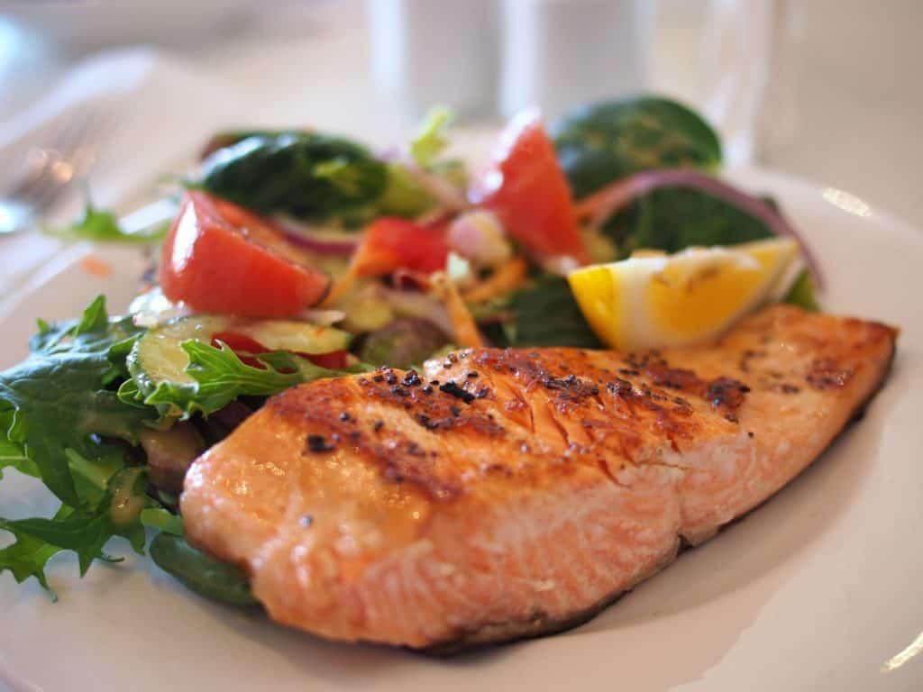 High quality salmon is a perfect source of omega-3 while on the keto diet,