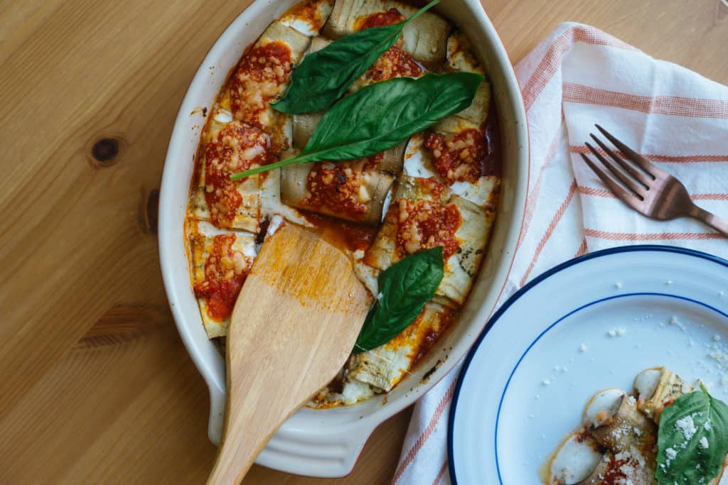 With our keto Eggplant Manicotti Italian is back on the menu and better than ever packing all the flavor and none of the carbs!