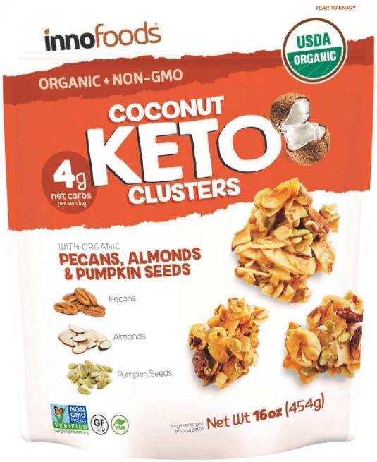inno foods keto clusters package