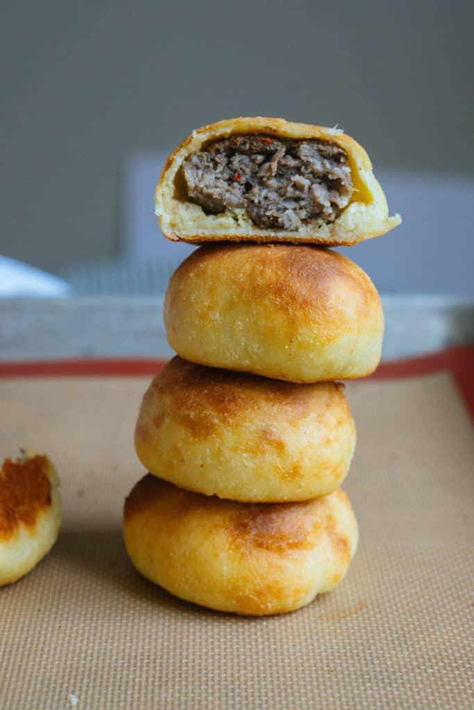 Keto Sausage Balls | Fathead Dough!