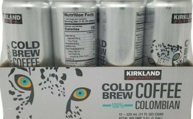 cold brew coffee kirkland brand from costco