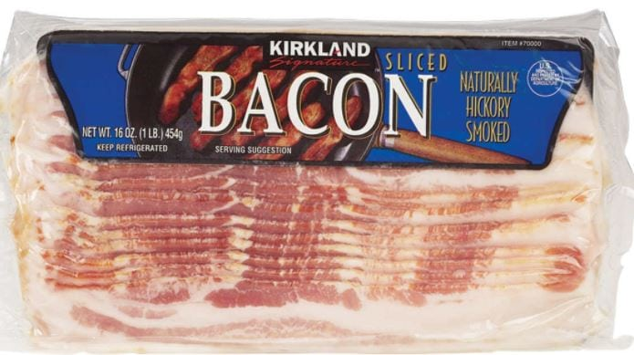 bacon from costco kirkland brand