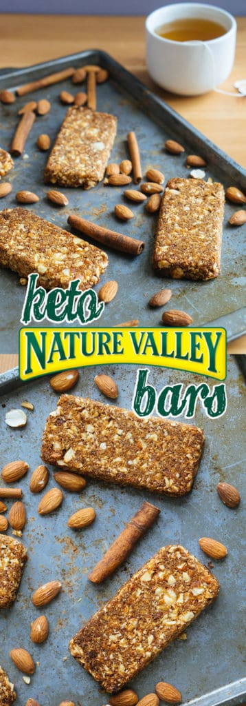 Our Low Carb Bars are the perfect replication of Nature Valley Granola Bars with better ingredients and fewer carbs!