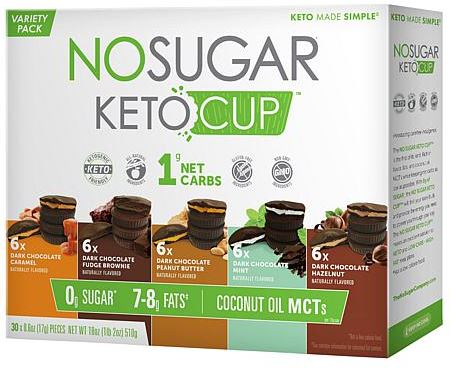 nu sugar keto cups variety pack from costco