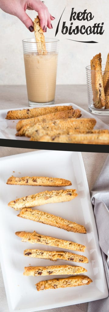 Our Keto Biscotti recipe is packed with flavor and identical to the real deal, perfect for this holiday season!