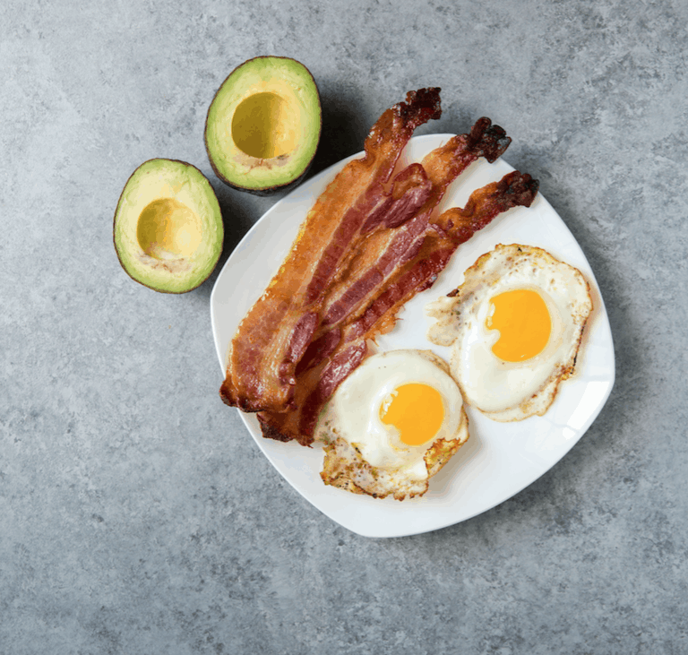 Завтрак при кето диете