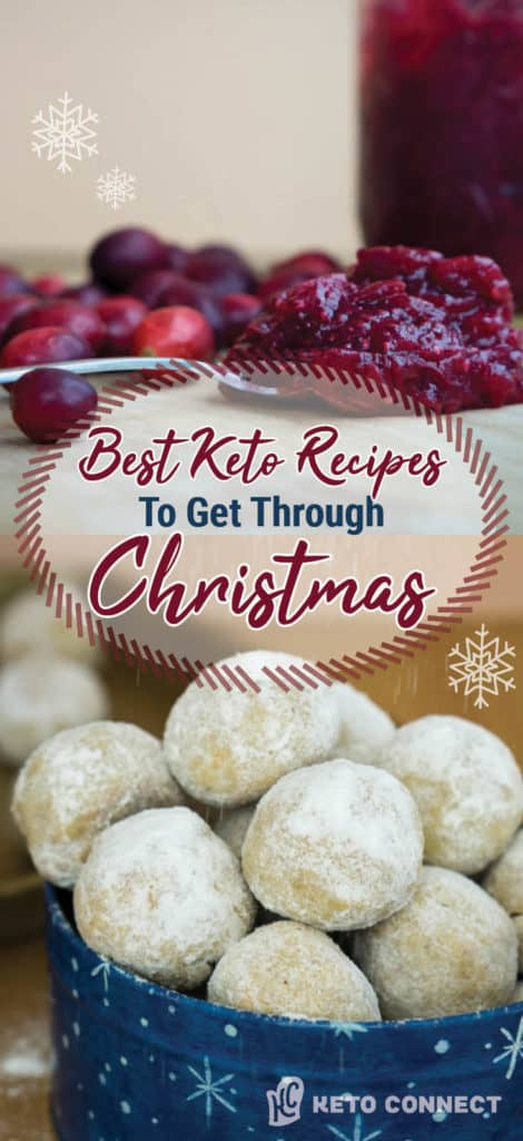 Use these Keto Christmas Recipes to help you stay on track and satisfied at this years celebrations!