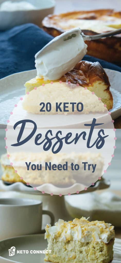 These 20 keto desserts are a must try for anyone just starting, or on the keto diet!