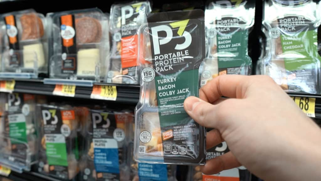 Paninos meat wrapped cheese sticks and P3 protein packs are great for a quick and simple snack on the go! The P3 protein packs contain meats, cheeses, and nuts that are already portioned out for you, great for convenience!