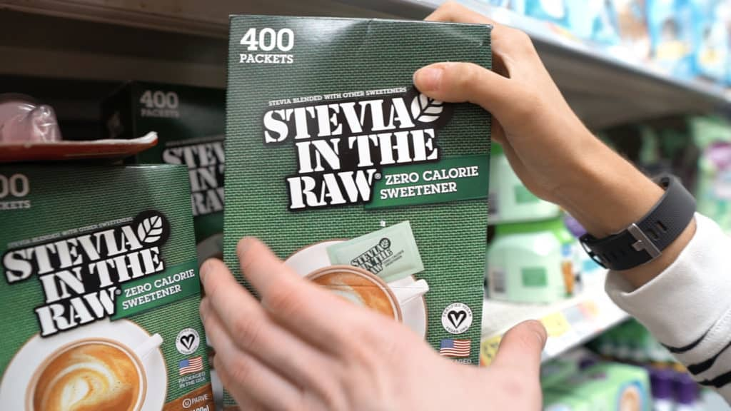 Stevia in the raw is not raw stevia, it contains dextrose which can spike blood sugar. This product should be avoided and products that contain mainly erythritol, stevia, or monk fruit should be what you stick with!