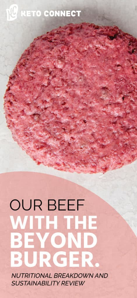 In this article, we broke down the nutrition, environmental impacts, and sustainability of our natural beef compared to The beyond burger!