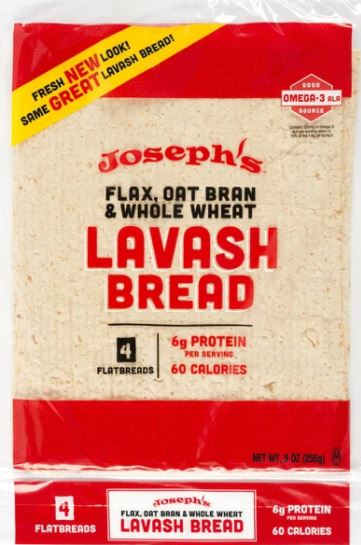 Josephs lavash bread review