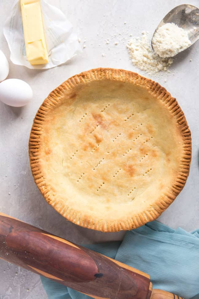 pie crust for keto baking
