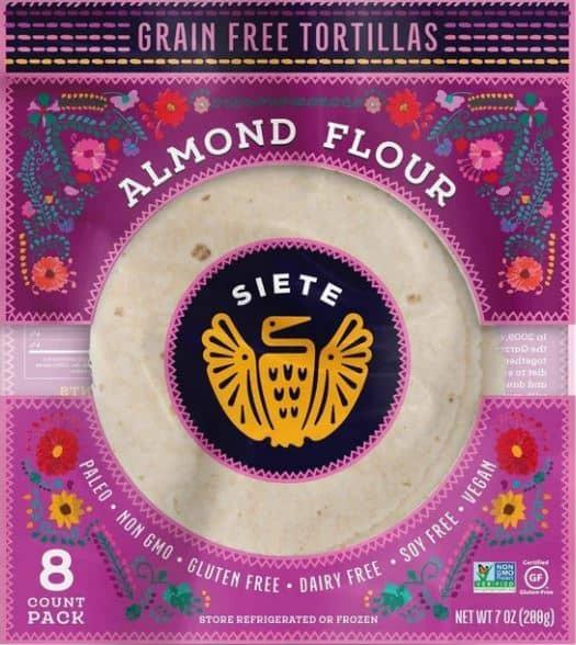review of siete almond flour tortillas