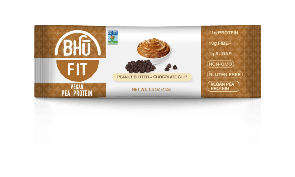 bhu fit bar in package with white background