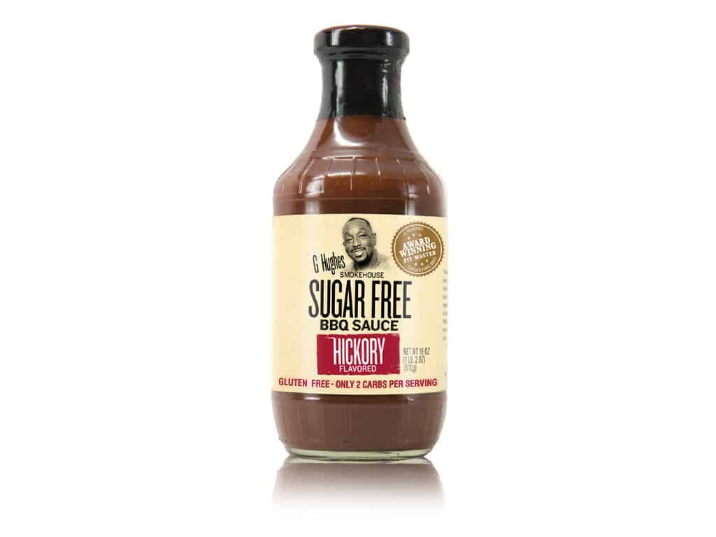 G Hughes Sugar-Free BBQ Sauce is a perfect barbecue sauce to include with anything that can be grilled!