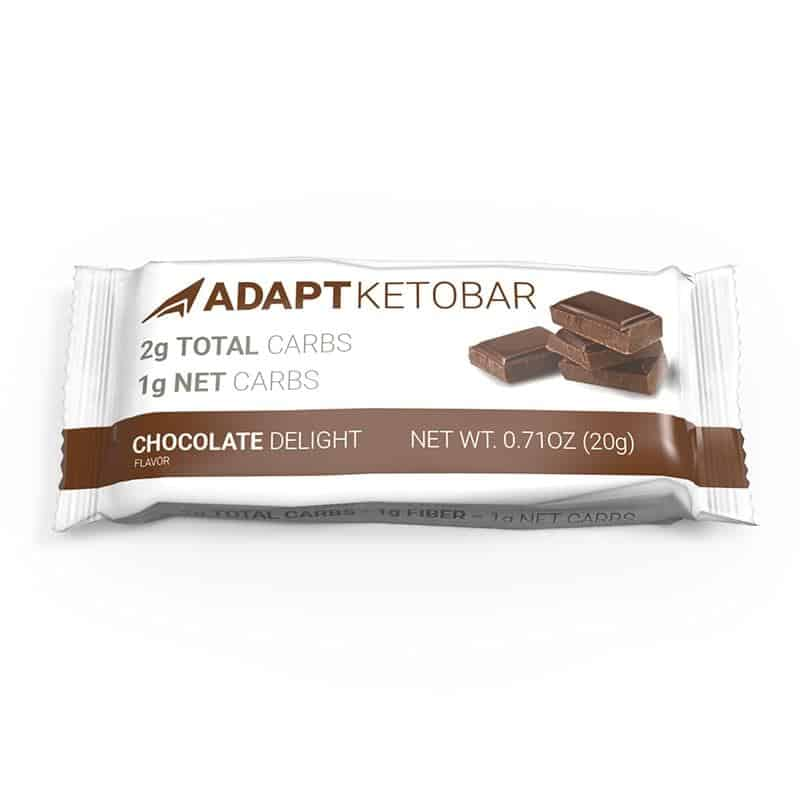 Adapt keto bars are great for a low carb snack and come in many different flavors.