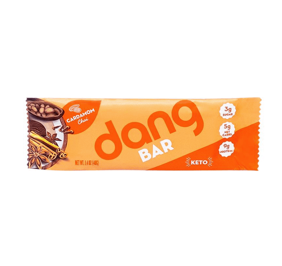 Dang Bar's are a tasty keto snack for any time of the day.