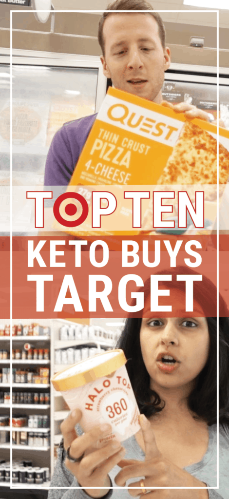 These are our top ten things to buy at target to follow your keto diet! We also list a few bad things to buy at target!