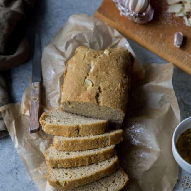 Keto Garlic Bread