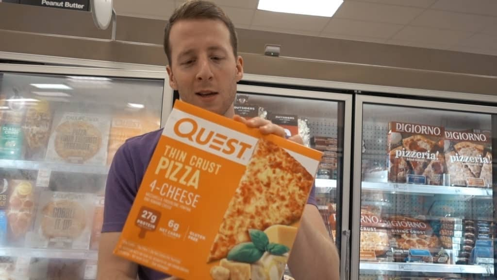 Quest pizza's are a decent option for delicious pizza while on a keto diet. They are easy to find at any target!