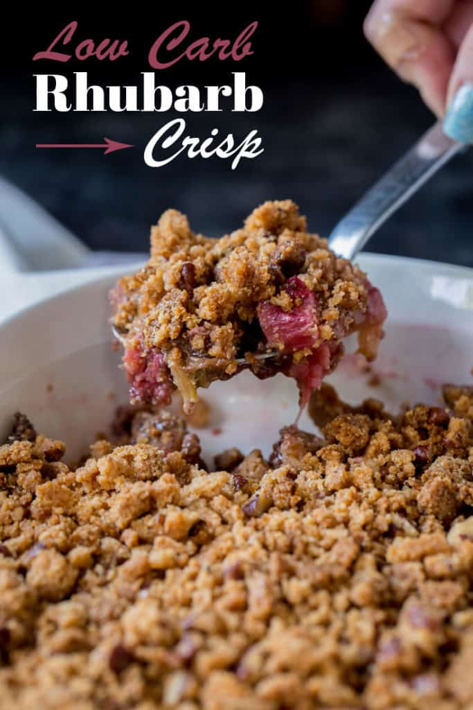 With a crumble topping and soft, hearty filling this Rhubarb Crisp Recipe is going to be your favorite new summer dessert, best served hot or cold!