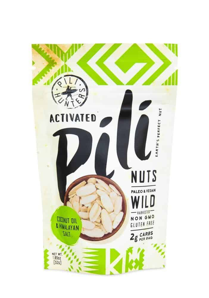 Pili Nuts keto nuts are the perfect low carb nut. Ideal for snacking without worries.