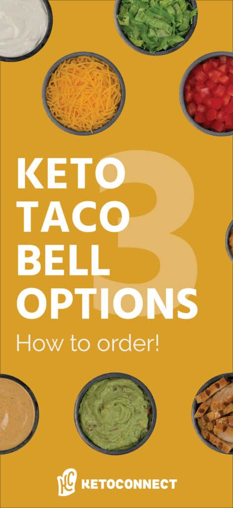 an easy to use guide on how to order a keto meal from taco bell