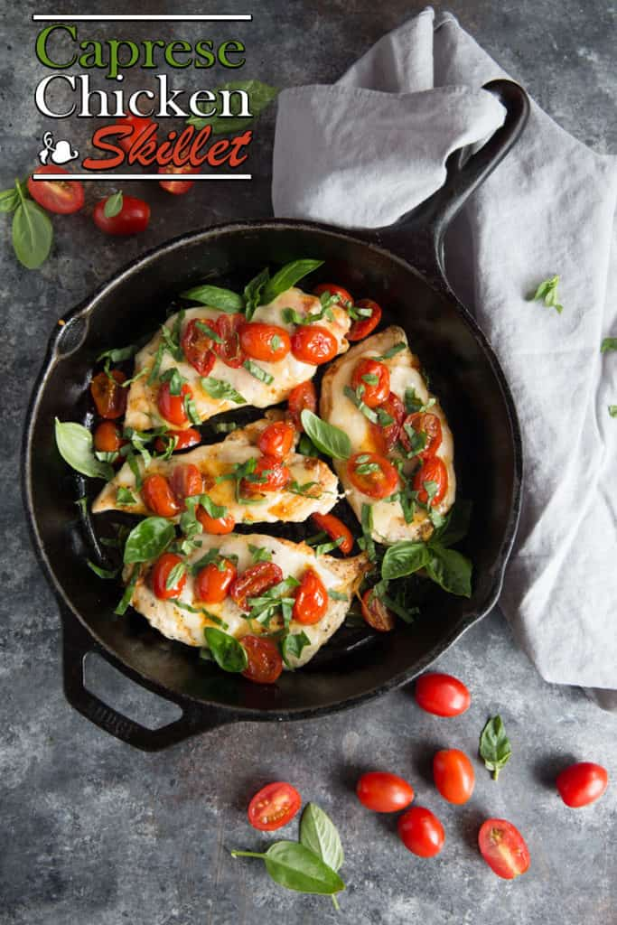 This easy chicken caprese recipe will add a fresh, filling dish to your quick weeknight dinners!