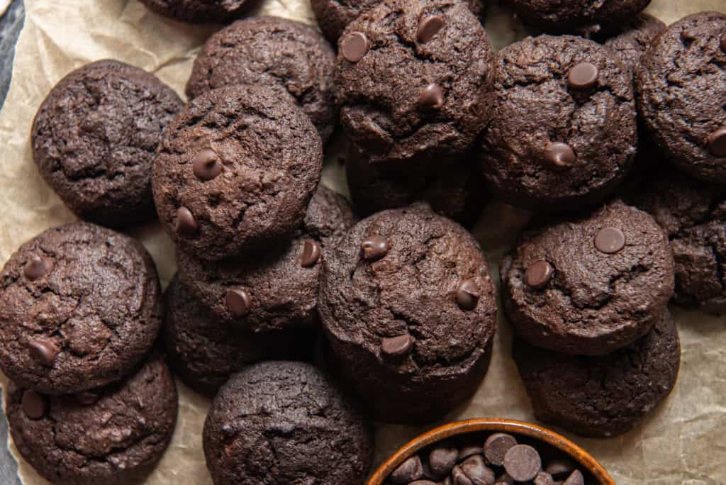 pile of fudge cookies