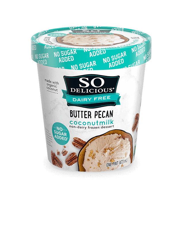 So Delicious No added sugar, dairy free keto ice cream comes in many delicious flavors and is the best keto ice cream