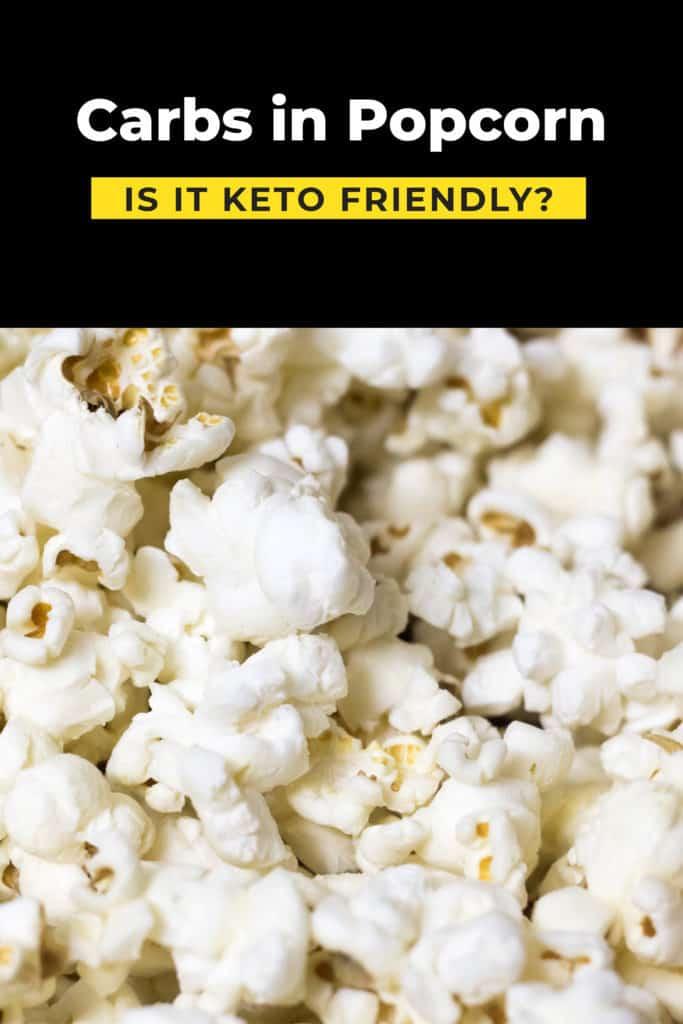 Popcorn on keto