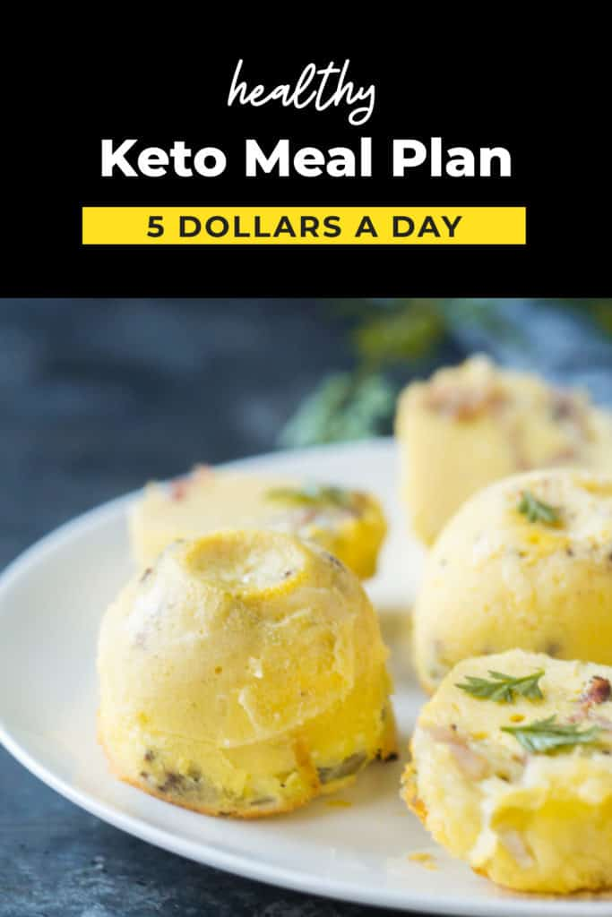 Keto On A Budget 5 A Day Keto Meal Plan Ketoconnect
